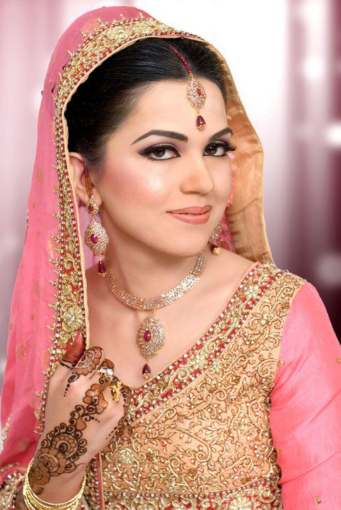 Pink-Bridal-Dress
