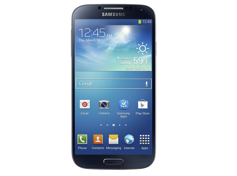 Launch Of Samsung Galaxy S4 Smartphone
