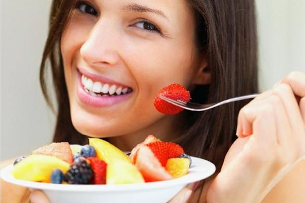 Staying healthy with fruits