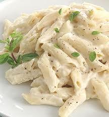 The Creamy White Sauce Pasta!