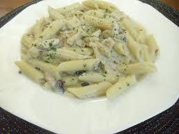 white sauce pasta