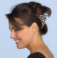 Accessorizing Hair Differently!