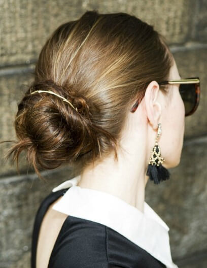 Bangle_Tie_hairstyle