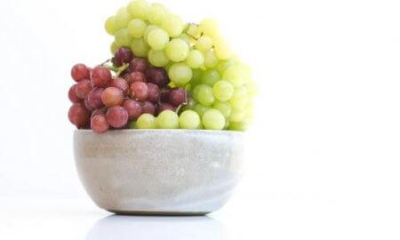 Eat grapes, make healthy