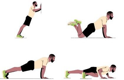 Reasons why you can't do push-ups What training methods can you do?