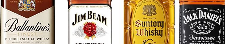 Recommended brands of whiskey that go well with highball