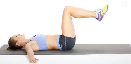 Tighten The Oblique Muscles With A Leg Twist Correct way & effective muscle training menu